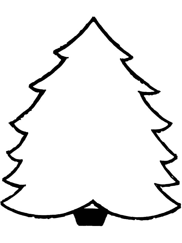 Christmas Trees, : How to Draw Christmas Trees Coloring Pages
