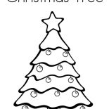 Christmas Trees, Picture Of Christmas Trees Coloring Pages: Picture of Christmas Trees Coloring Pages