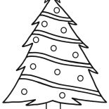 Christmas Trees, Star On Top Christmas Trees Coloring Pages: Star on Top Christmas Trees Coloring Pages