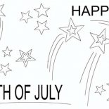 Independence Day, A Joyful And Happy Independence Day Event Coloring Page: A Joyful and Happy Independence Day Event Coloring Page