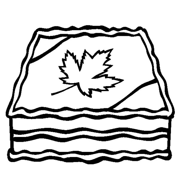 Canada Day, : Canada Day 2015 Cake Decoration Coloring Pages
