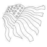 Independence Day, Drawing USA Flag For Independence Day Event Coloring Pages: Drawing USA Flag for Independence Day Event Coloring Pages 2