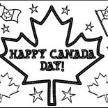 Canada Day, Joyful Celebration On Canada Day 2015 Coloring Pages: Joyful Celebration on Canada Day 2015 Coloring Pages