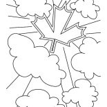 Canada Day, Patriotic Canada Symbol For Canada Day 2015 Coloring Pages: Patriotic Canada Symbol for Canada Day 2015 Coloring Pages