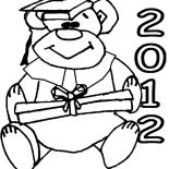 Graduation, 2012 Graduation Day Coloring Pages: 2012 Graduation Day Coloring Pages
