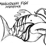 Monster Fish, Bangladeshi Monster Fish Coloring Pages: Bangladeshi Monster Fish Coloring Pages