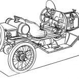 Model t Car, Building Model T Car Coloring Pages: Building Model T Car Coloring Pages