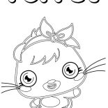 Moshi, Cute Poppet Moshi Monster Coloring Pages: Cute Poppet Moshi Monster Coloring Pages
