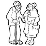 Grandfather, Drawing Grandfather And Grandmother Coloring Pages: Drawing Grandfather and Grandmother Coloring Pages