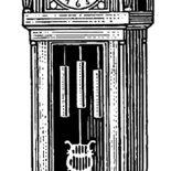 Grandfather Clock, Exclusive Design Grandfather Clock Coloring Pages: Exclusive Design Grandfather Clock Coloring Pages