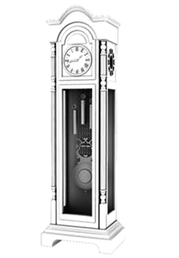 Grandfather Clock, : Expensive Grandfather Clock Coloring Pages