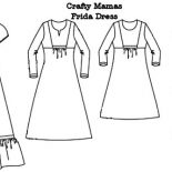 Mexican Dress, Frida Dress Mexican Dress Coloring Pages: Frida Dress Mexican Dress Coloring Pages
