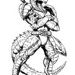 Godzilla, Godzilla Standing Tall Coloring Pages: Godzilla Standing Tall Coloring Pages