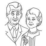 Grandfather, Grandfather And Grandmother Coloring Pages: Grandfather and Grandmother Coloring Pages