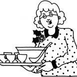 Grandmother, Grandmother Bring Us Soup Coloring Pages: Grandmother Bring Us Soup Coloring Pages