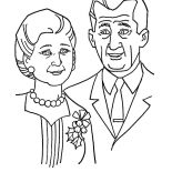 Grandmother, Grandmother And Grandfather Coloring Pages: Grandmother and Grandfather Coloring Pages