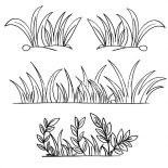 Grass, Grass Grow So Well Coloring Pages: Grass Grow so Well Coloring Pages
