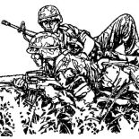 Military, Guerilla Military Coloring Pages: Guerilla Military Coloring Pages