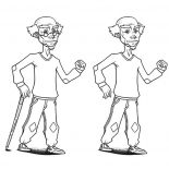 Grandfather, How To Draw Grandfather Coloring Pages: How to Draw Grandfather Coloring Pages