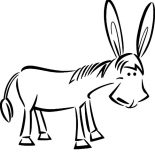 Mexican Donkey, How To Draw Mexican Donkey Coloring Pages: How to Draw Mexican Donkey Coloring Pages