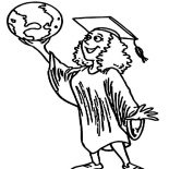 Graduation, I Can Conquer The World After My Graduation Coloring Pages: I Can Conquer the World After My Graduation Coloring Pages