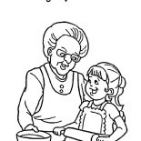 Grandmother, I Love You Grandmother Coloring Pages: I Love You Grandmother Coloring Pages