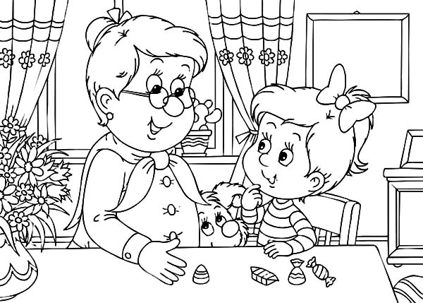 Little Boy And Girl Coloring Pages Little Girl Ballerina Coloring ... | 429x600