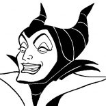 Maleficent, Maleficent Coloring Pages For Kids: Maleficent Coloring Pages for Kids