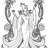 Maleficent, Maleficent The Movie Coloring Pages: Maleficent the Movie Coloring Pages