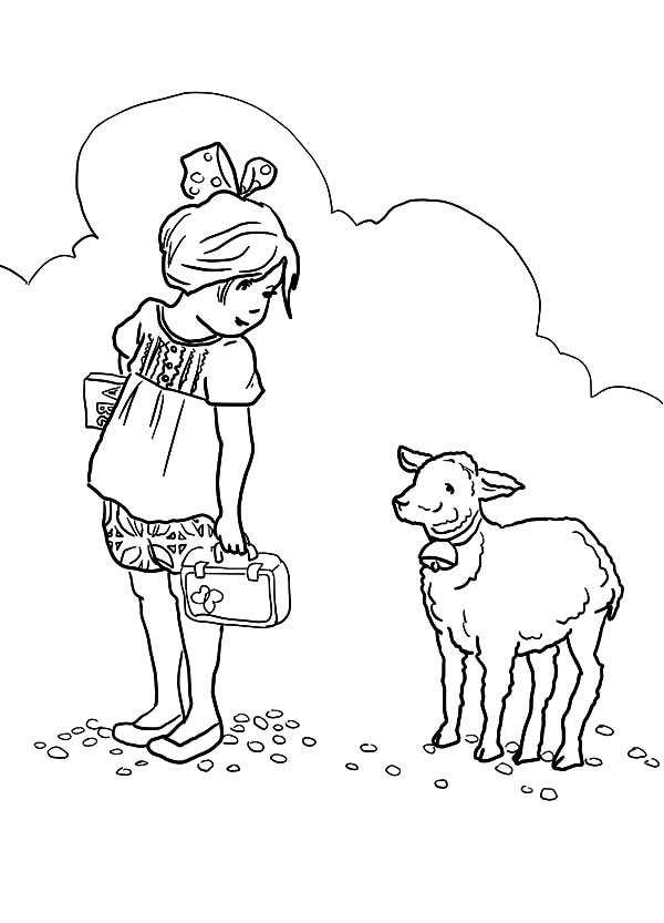 free easter printables | Easter Lamb Coloring Pages | Spring ... | 833x600