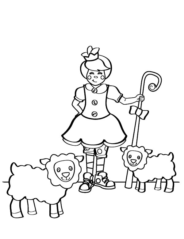 Mary Had a Little Lamb, : Mary Had a Little Lamb and Another Coloring Pages