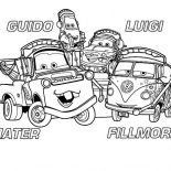 Mater, Mater And Friends Coloring Pages: Mater and Friends Coloring Pages