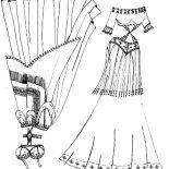 Mexican Dress, Mexican Belly Dancer Dress Coloring Pages: Mexican Belly Dancer Dress Coloring Pages