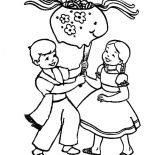 Mexican Dress, Mexican Dress In Cinco De Mayo Coloring Pages: Mexican Dress in Cinco de Mayo Coloring Pages