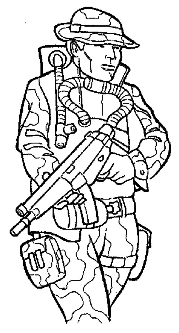 child army coloring pages - photo#7