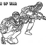 Military, Military Men Of War Coloring Pages: Military Men of War Coloring Pages