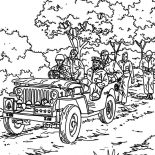Military, Military Parade Coloring Pages: Military Parade Coloring Pages