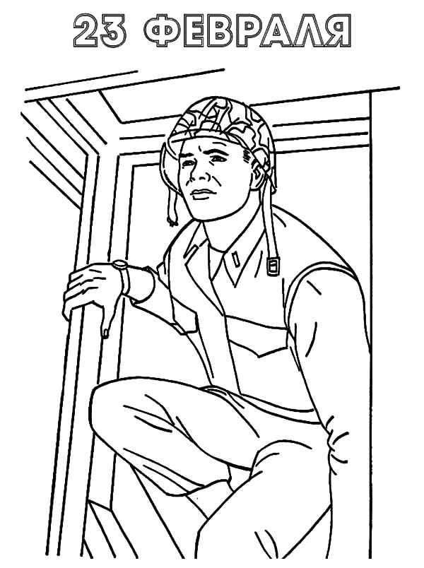 Military, : Military Soldier Sneaking Coloring Pages