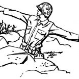 Military, Military Soldier Throwing Granade Coloring Pages: Military Soldier Throwing Granade Coloring Pages