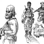Military, Military Special Forces Coloring Pages: Military Special Forces Coloring Pages