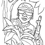 Military, Military Spy Coloring Pages: Military Spy Coloring Pages