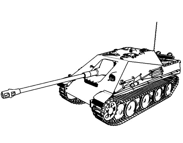 Military, : Military Tank Coloring Pages