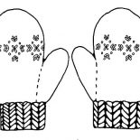 Mittens, Mittens Keep Your Hand Warm Coloring Pages: Mittens Keep Your Hand Warm Coloring Pages