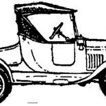 Model t Car, Model T Car Coloring Pages: Model T Car Coloring Pages