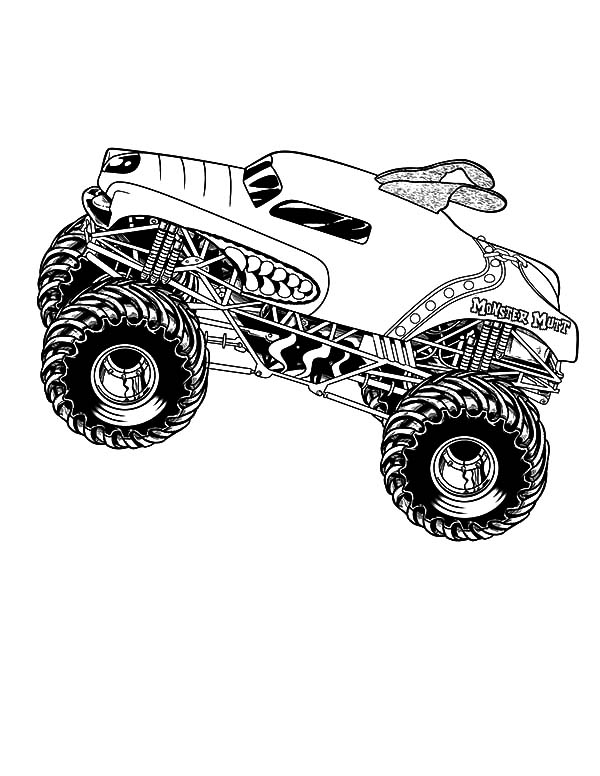 Monster Jam, Monster Jam Performers Coloring Pages: Monster Jam Performers Coloring Pages