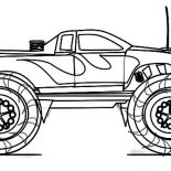 Monster Jam, Monster Jam Truck Sketch Coloring Pages: Monster Jam Truck Sketch Coloring Pages