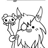 Moshi, Moshi Monster Big Bad Bill Coloring Pages: Moshi Monster Big Bad Bill Coloring Pages