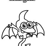 Moshi, Moshi Monster Gurgle Coloring Pages: Moshi Monster Gurgle Coloring Pages