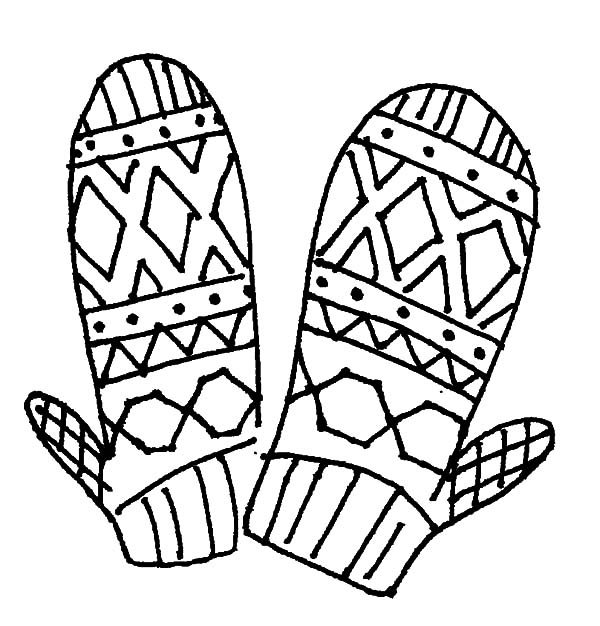Mittens, : My Brother Mittens Coloring Pages