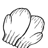 Mittens, Preschooler Mittens Coloring Pages: Preschooler Mittens Coloring Pages